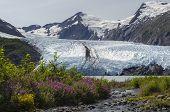 Portage Glacier From Stream