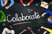 Multi-Ethnic Group of People and Collaboration Concepts