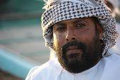 Omani Man With black beard