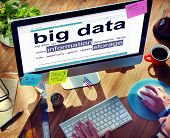 Digital Dictionary Big Data Information Storage Concept