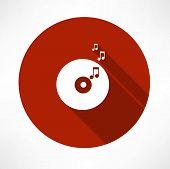 vinyl record tunes icon