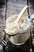 Flour In The Ladle