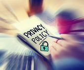 Businessman Working Security Privacy Policy Concept