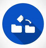 movement a file icon