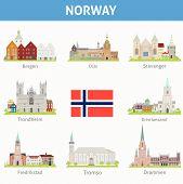Cities in Norway