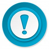 exclamation sign icon, warning sign