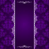 Vector Background With Lace Pattern