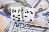 Buy And Sell Dices On Dollar Bills