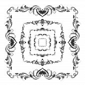 Vector Set Of Frames For Design