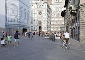 FLORENCE, ITALY ON AUGUST 25