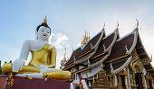 Bid Buddha Statue In Chiangmai, Thailand