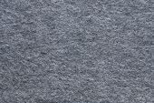 Texture Soft Fleecy Fabric Of Gray Color