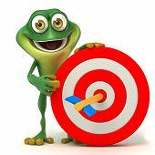 Frog target