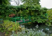 Monets Garten und Teich