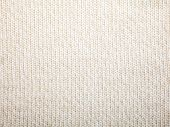 Beige knitted fabric textured background