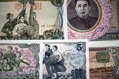 Banknotes Of North Korea.