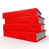 Four Red Books