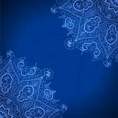 picture of indian blue  - Blue abstract vector background - JPG