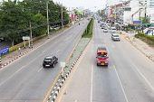 Traffic In Asian City