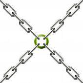 Chain - Connection / Teamwork Symbolism