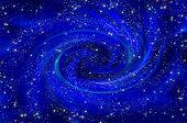 Universe Space Stars Spiral Nebula