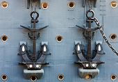 Anchors Of Cruiser Aurora