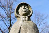 Statue Of Gertrude Van Oosten.