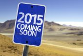 2015 Coming Soon sign with a desert background