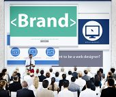Business People Brand Presentation Concept