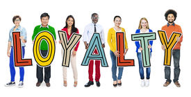 image of loyalty  - Group of People Standing Holding Loyalty - JPG