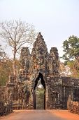 image of mystique  - Arch to the ancient city of Angkor - JPG