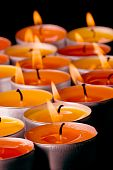 Flaming Candles