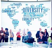 picture of racial diversity  - Diversity Community Meeting Business People Concept - JPG