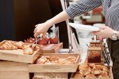 foto of croissant  - Croissants taste good with jam - JPG