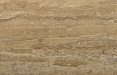 Surface Of The Travertine. Beige And Sand-coloured Colours.