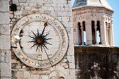 Clock tower in Split, Croati
