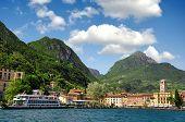 stock photo of lagos  - The city of Riva del Garda - JPG