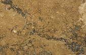 Surface Of The Travertine. Rust-coloured Pattern.