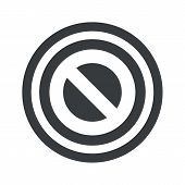 pic of taboo  - Image of NO sign in circle - JPG