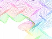image of distortion  - abstract wireframe distortions - JPG