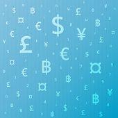 image of yen  - Currency symbol background dollar - JPG