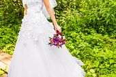 image of bouquet  - wedding bouquet - JPG
