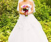 stock photo of bouquet  - wedding bouquet - JPG