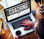 picture of role model  - Coach Coaching Skills Teach Teaching Training Concept - JPG