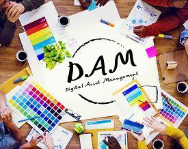 pic of asset  - DAM Digital Asset Management Organization Concept - JPG