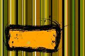 stock photo of tawdry  - abstract vector illustration yellow green orange toned image - JPG