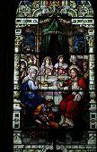 Religious Stain Glass Window