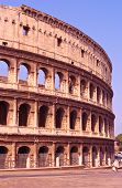 Il Colosseo Also Known As Flavian Amphitheatre In Rome poster