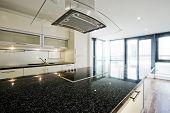 modern kitchen with highest standards