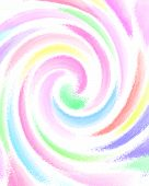 foto of pastel colors  - colorful pastel swirls on white background illustration - JPG
